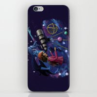 astronomy iPhone & iPod Skins featuring Muse of Astronomy by Jessica Chrysler