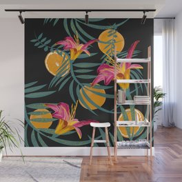 Plants Flowers and Your Orange Fruit Wall Mural