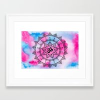 ohm Framed Art Prints featuring Ohm by Frida Glans