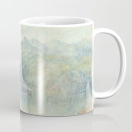 """J.M.W. Turner """"The Lake of Lucerne from Brunnen, with a Steamer"""" Coffee Mug"""