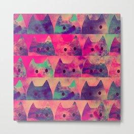 cats-303 Metal Print