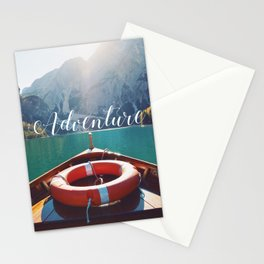 Live the Adventure - Typography Stationery Cards