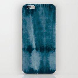 Tye Dye Denim iPhone Skin