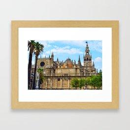 Seville Cathedral Framed Art Print