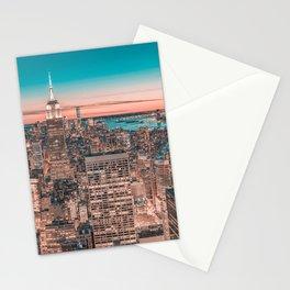 NYC Night Sky Stationery Cards