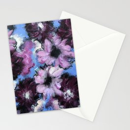 Whatever Floats Your Flowers Stationery Cards