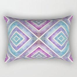 Watercolor Geometrics Rectangular Pillow