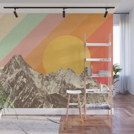 Mountainscape 1 Wall Mural
