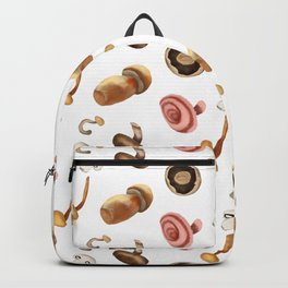 Mushroom pattern forest Backpack