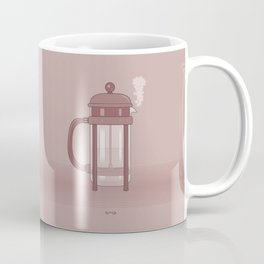 Coffee Maker Series - French Press Coffee Mug