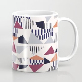 Underground Patchwork Coffee Mug
