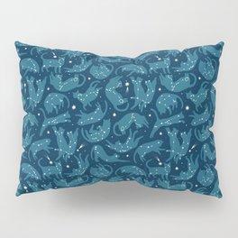 Zodiac cats by Julia Gosteva Pillow Sham