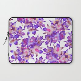 Vintage Floral Violet Laptop Sleeve