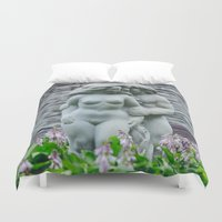 lovers Duvet Covers featuring Lovers by 1705 Photography