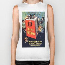 Vintage poster - Dante's Inferno Biker Tank
