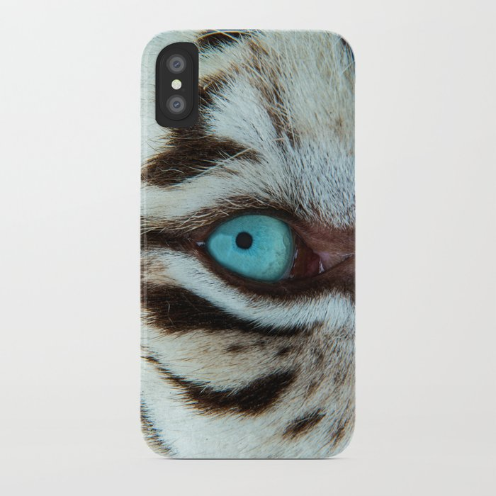WHITE TIGER BEAUTY iPhone Case