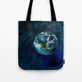 Earth Is In Trouble Tote Bag