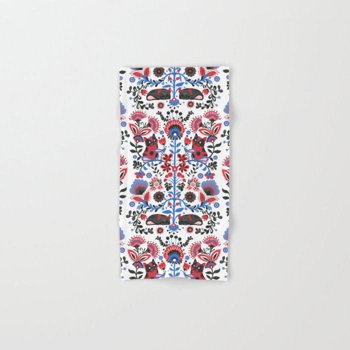 The French Bulldog of Folk Hand & Bath Towel