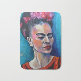 Je te ciel, hommage à Frida Kalos Bath Mat