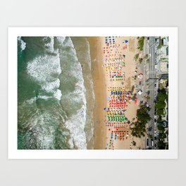 See you in Rio Art Print