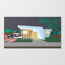 Modern Home Canvas Print