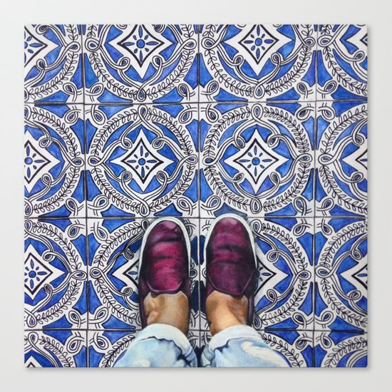 Art Beneath Our Feet - Ancona, Italy Canvas Print