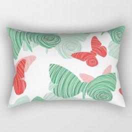 Butterflies- Mariposas Rectangular Pillow