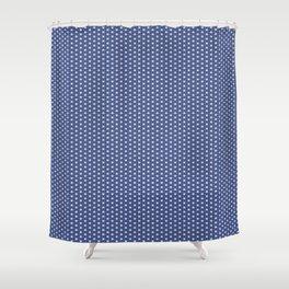 Geometric Pattern Japanese Shower Curtain