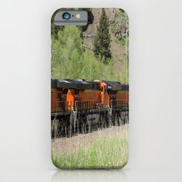 Running Heavy Load iPhone Case