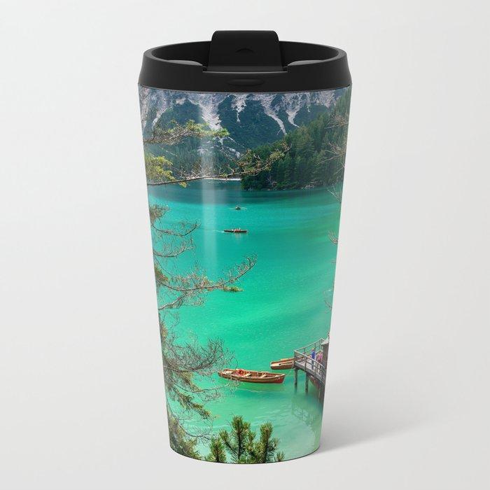 Pragser Wildsee Metal Travel Mug