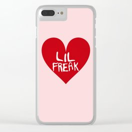 Lil Freak Valentine Clear iPhone Case