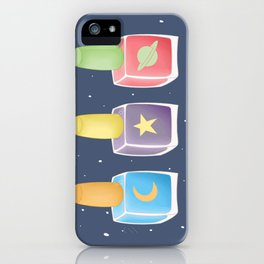 Space Glamour iPhone Case