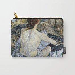 Henri De Toulouse Lautrec - Rousse Carry-All Pouch