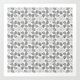 CONE / pattern pattern Art Print