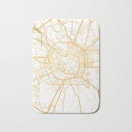 MILAN ITALY CITY STREET MAP ART Bath Mat