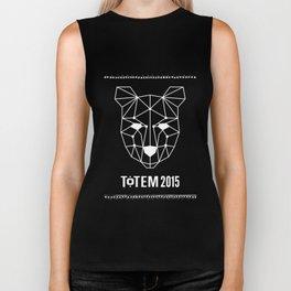 Totem Festival 2015 - White & Black Biker Tank