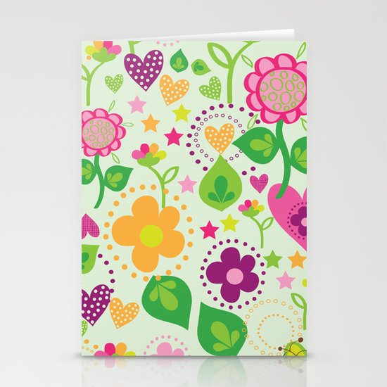 Summer feeling Stationery Cards