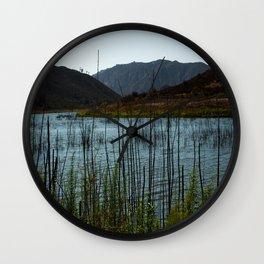Lake Hodges, CA Wall Clock