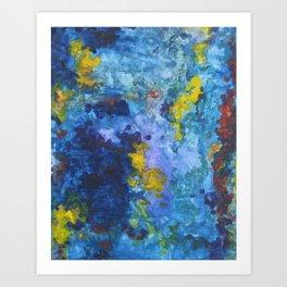 Water No. 4 Art Print
