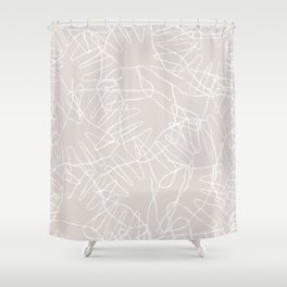 My Hands in yours Shower Curtain