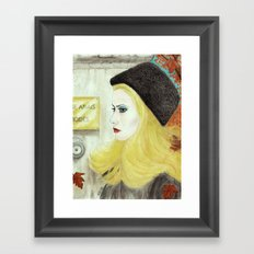 Severine Framed Art Print