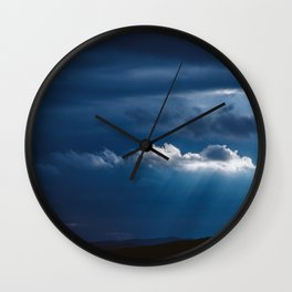 Storm is comming Wall Clock