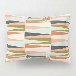 Scandinavian Geometry Pattern green #Homedecor Pillow Sham