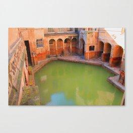 Roman Bath Canvas Print