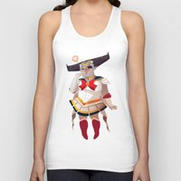 dragon age inquisition Tank Tops featuring Dragon Age Inquisition: The Iron Bull chan by Niklisson