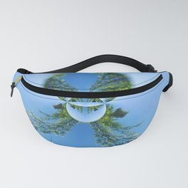 blue green planet bug Fanny Pack