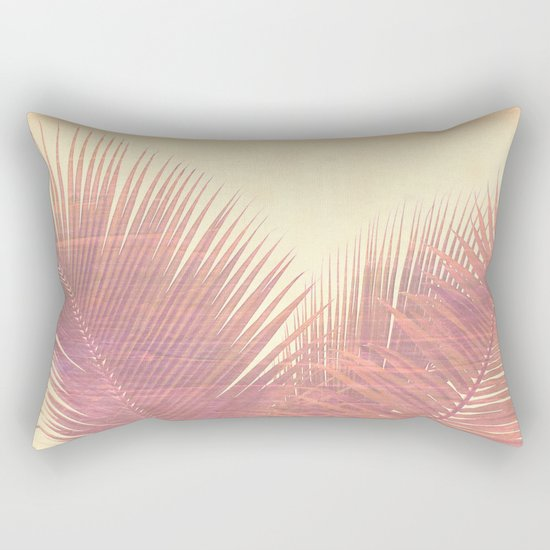 Vintage Palm Rectangular Pillow