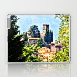 Duomo of Barga (color) Laptop & iPad Skin