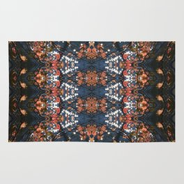 Autumnal mosaic Rug