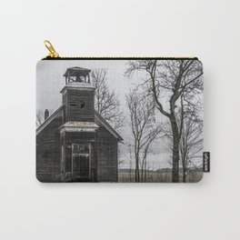 Abandoned Schoolhouse Michigan Country Road Carry-All Pouch